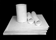 High temperature machinable structural ceramic boards and tubes